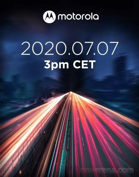 Motorola anuncia un evento para el 7 de Julio