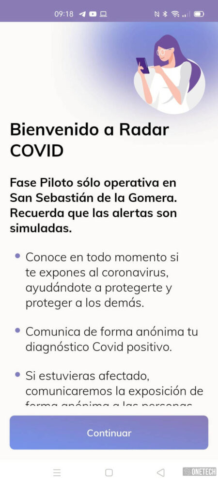 Radar COVID, te mostramos la app para rastrear contagios del coronavirus en España 2