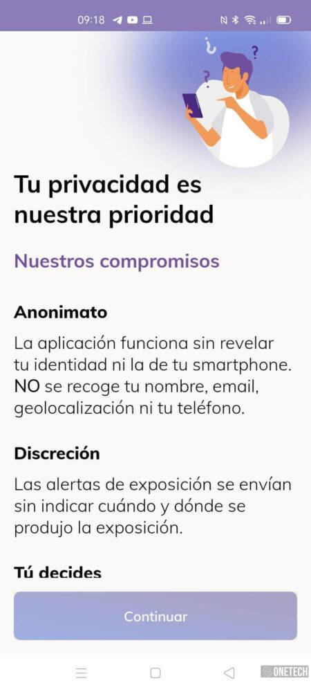 Radar COVID, te mostramos la app para rastrear contagios del coronavirus en España 3