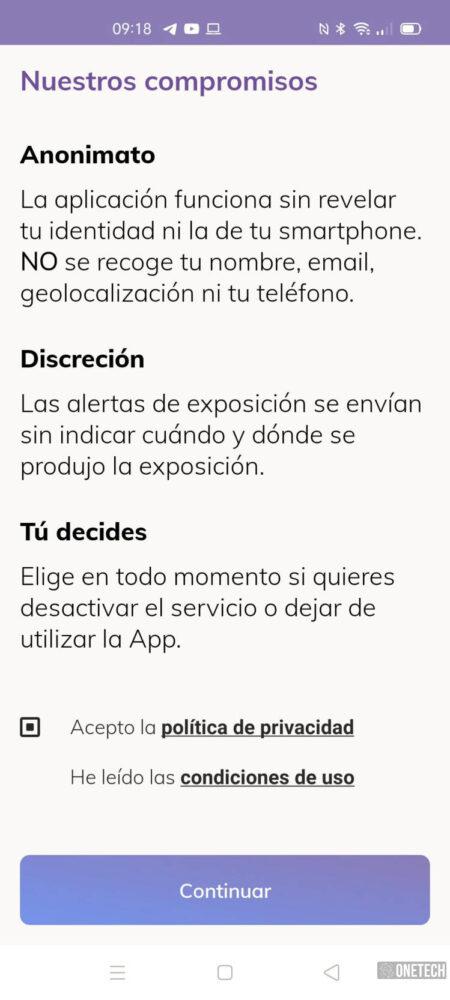 Radar COVID, te mostramos la app para rastrear contagios del coronavirus en España 4