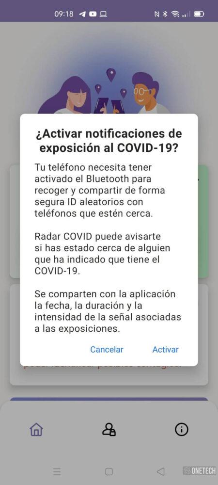 Radar COVID, te mostramos la app para rastrear contagios del coronavirus en España 7