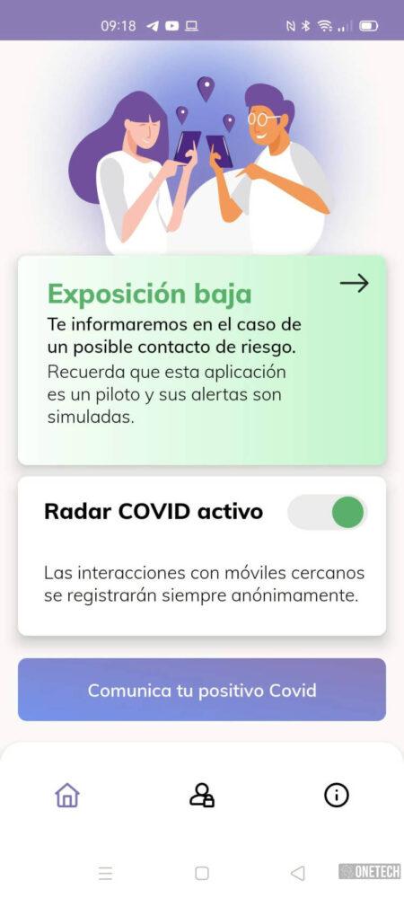 Radar COVID, te mostramos la app para rastrear contagios del coronavirus en España 8