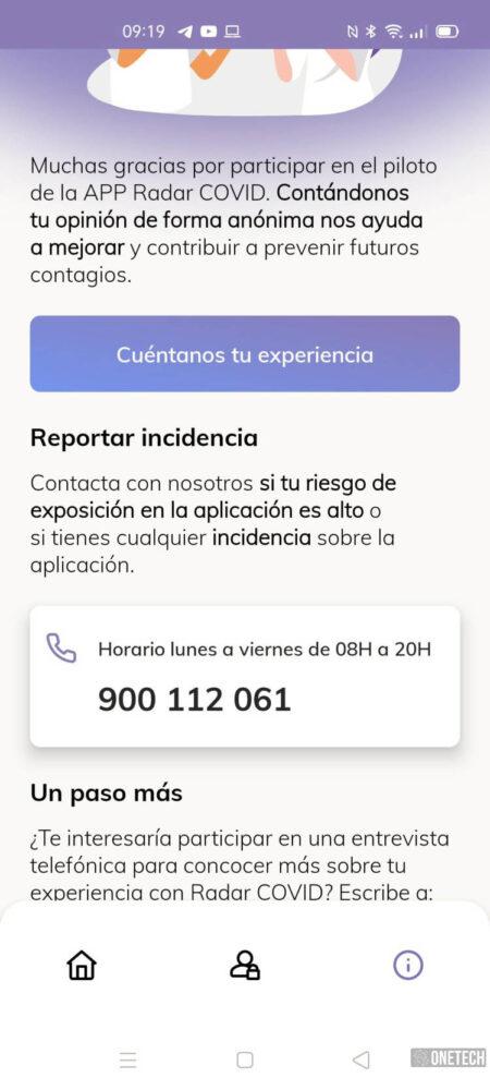 Radar COVID, te mostramos la app para rastrear contagios del coronavirus en España 11