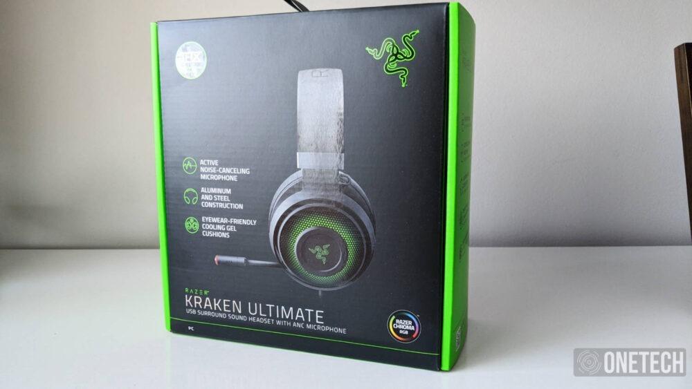 Razer Kraken Ultimate con THX Spatial Audio y micrófono con cancelación de ruido, lo analizamos a fondo 1