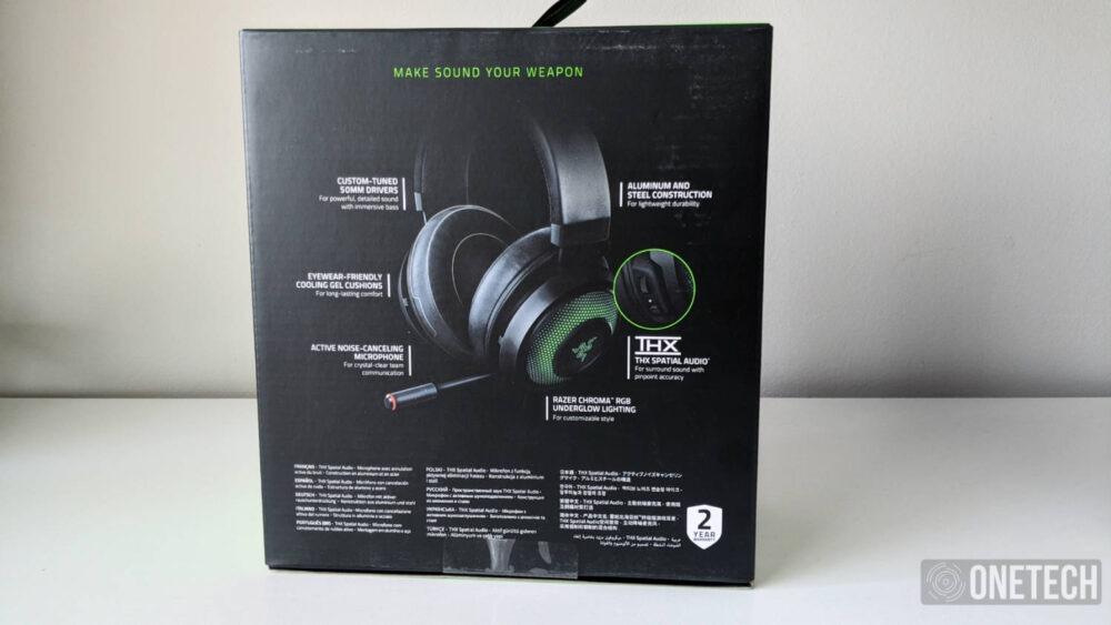 Razer Kraken Ultimate con THX Spatial Audio y micrófono con cancelación de ruido, lo analizamos a fondo 2