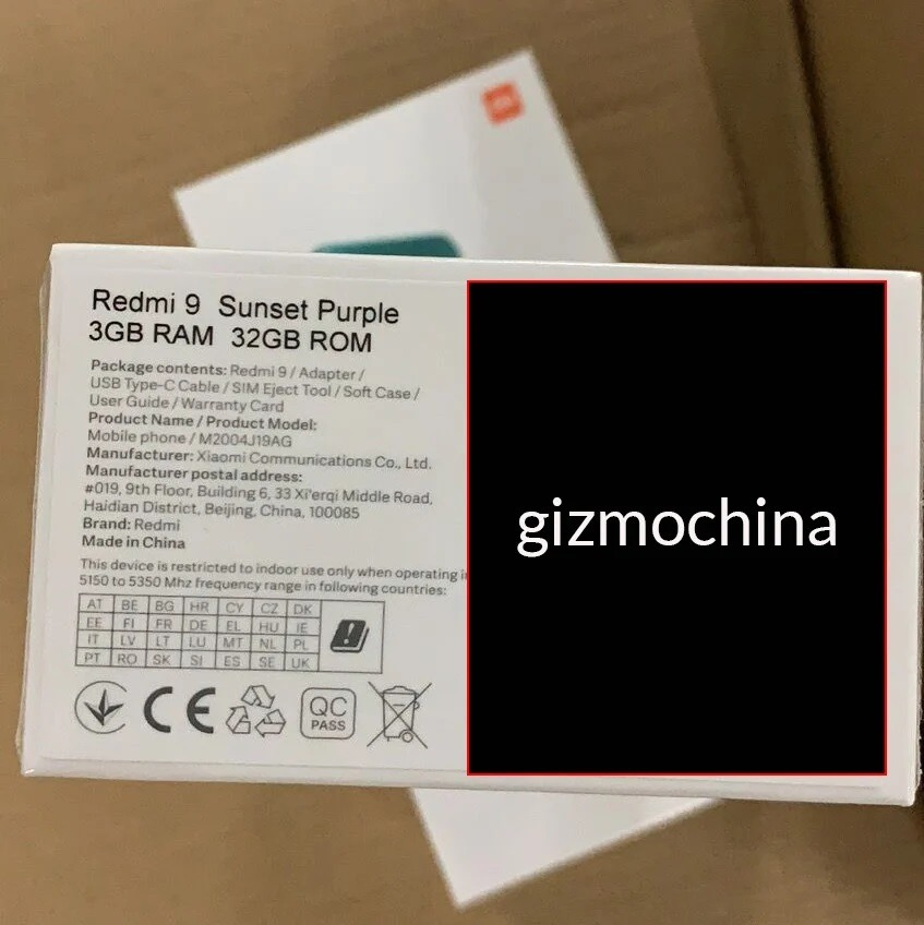 El Redmi 9 se filtra con precio y especificaciones 1