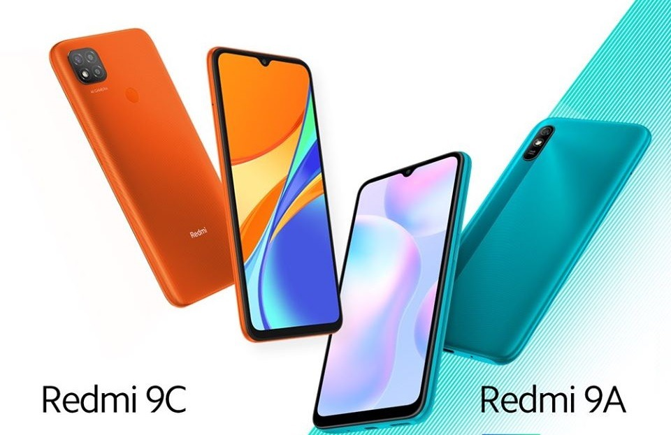 Redmi 9A y Redmi 9C