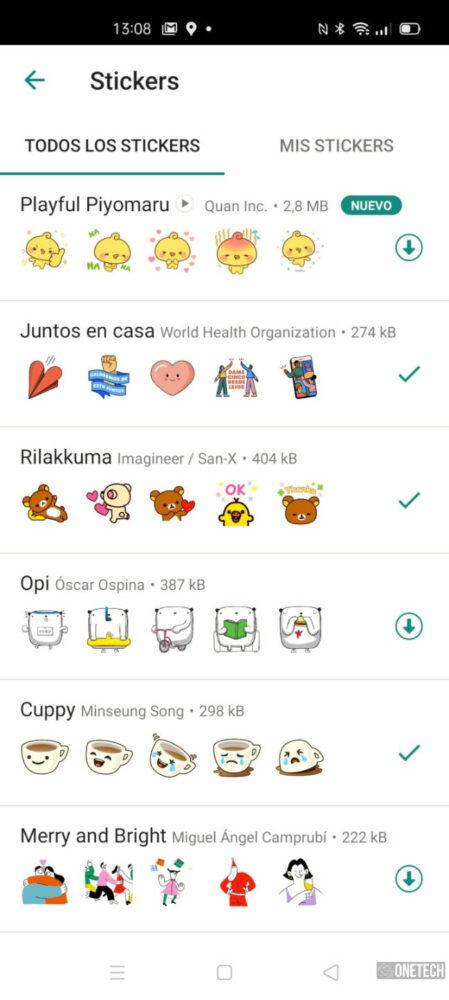 WhatsApp beta ya admite Stickers animados y te los mostramos 1