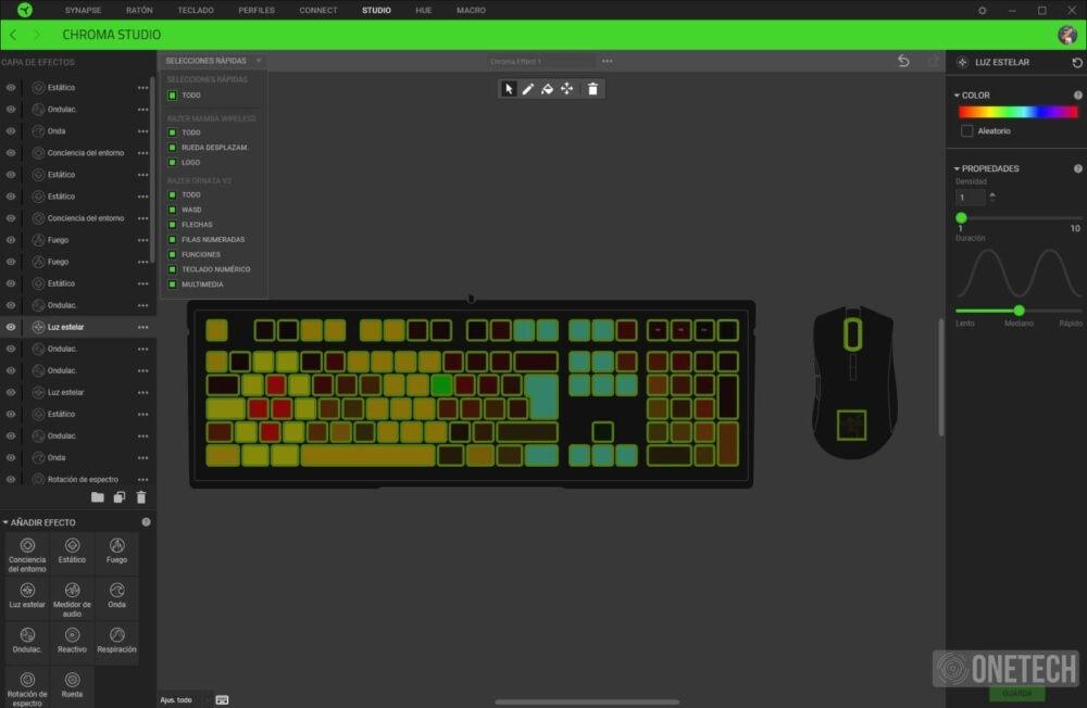 Razer Ornata V2, el equilibrio entre mecánico y membrana ahora viene con controles multimedia - Análisis 9