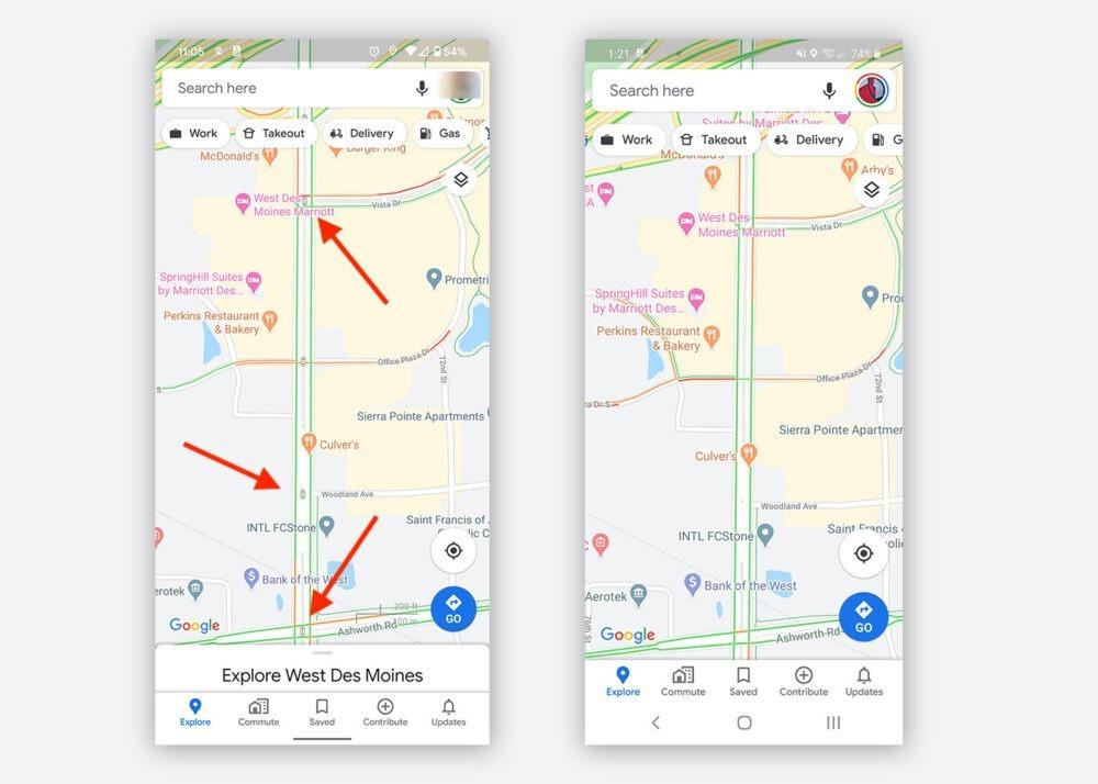 Google Maps comienza a mostrar semáforos