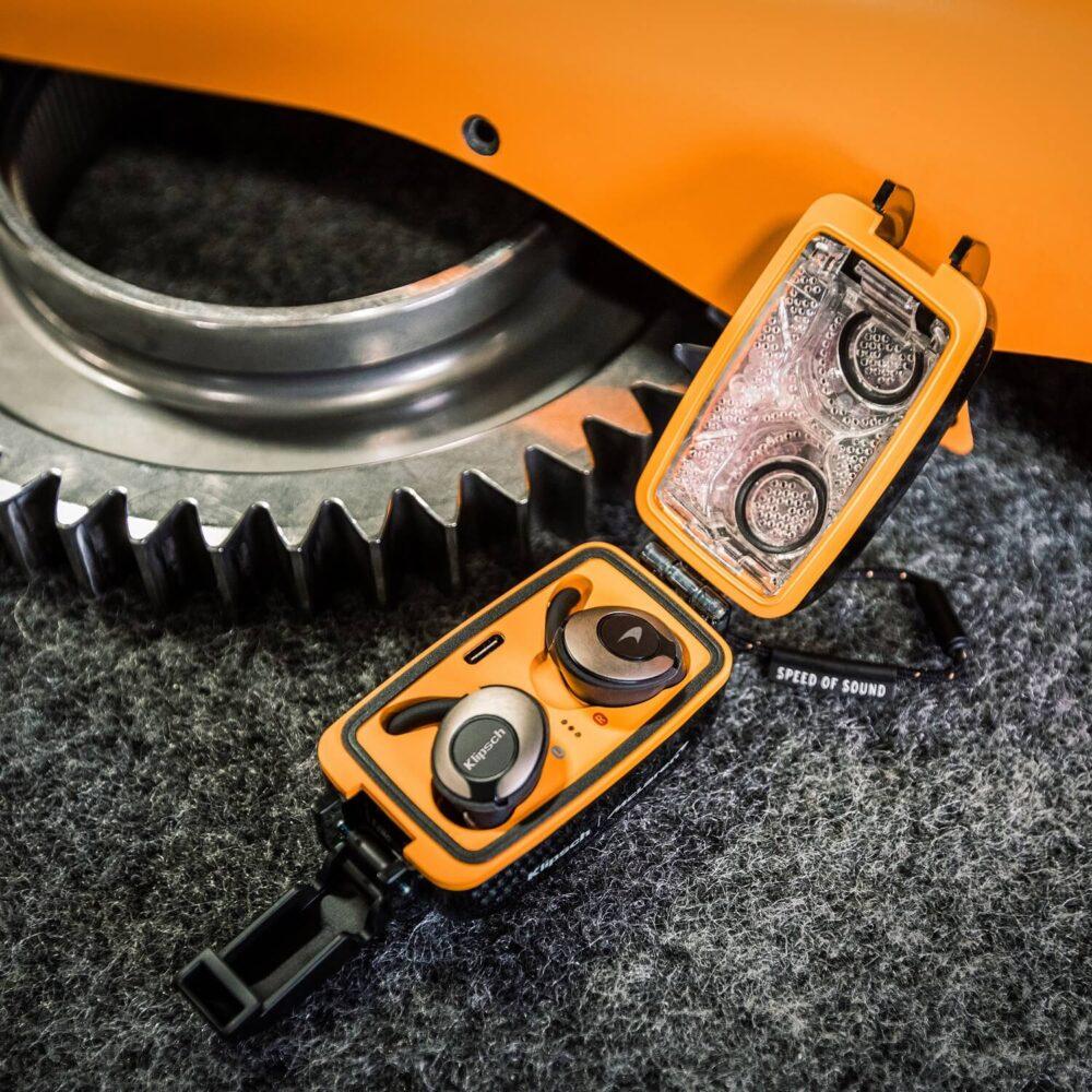 Klipsch T5 II True Wireless Sport McLaren para amantes de F1