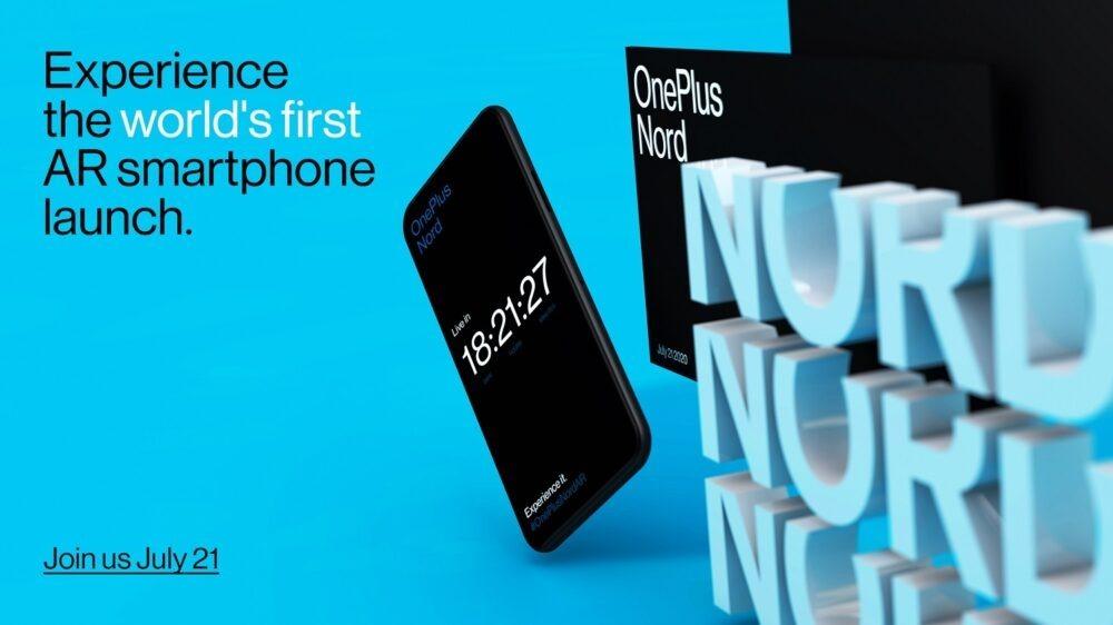 Es oficial: el OnePlus Nord se lanzará el 21 de Julio en AR