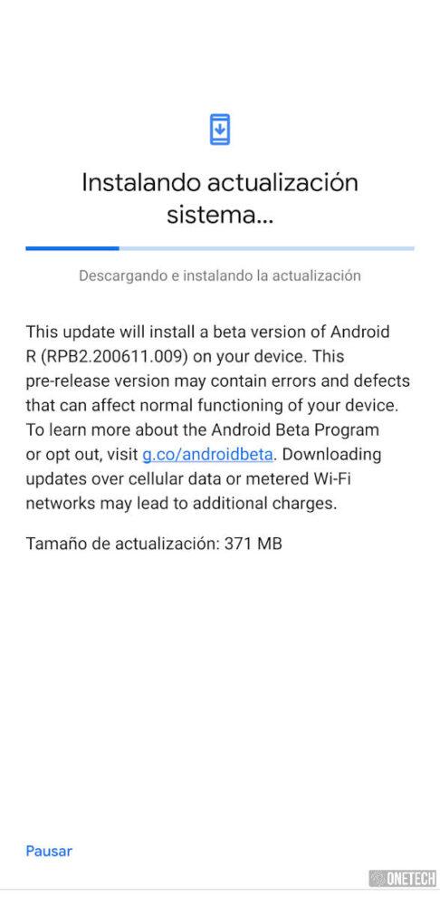 Android 11 Beta 2 ya está disponible para los Google Pixel