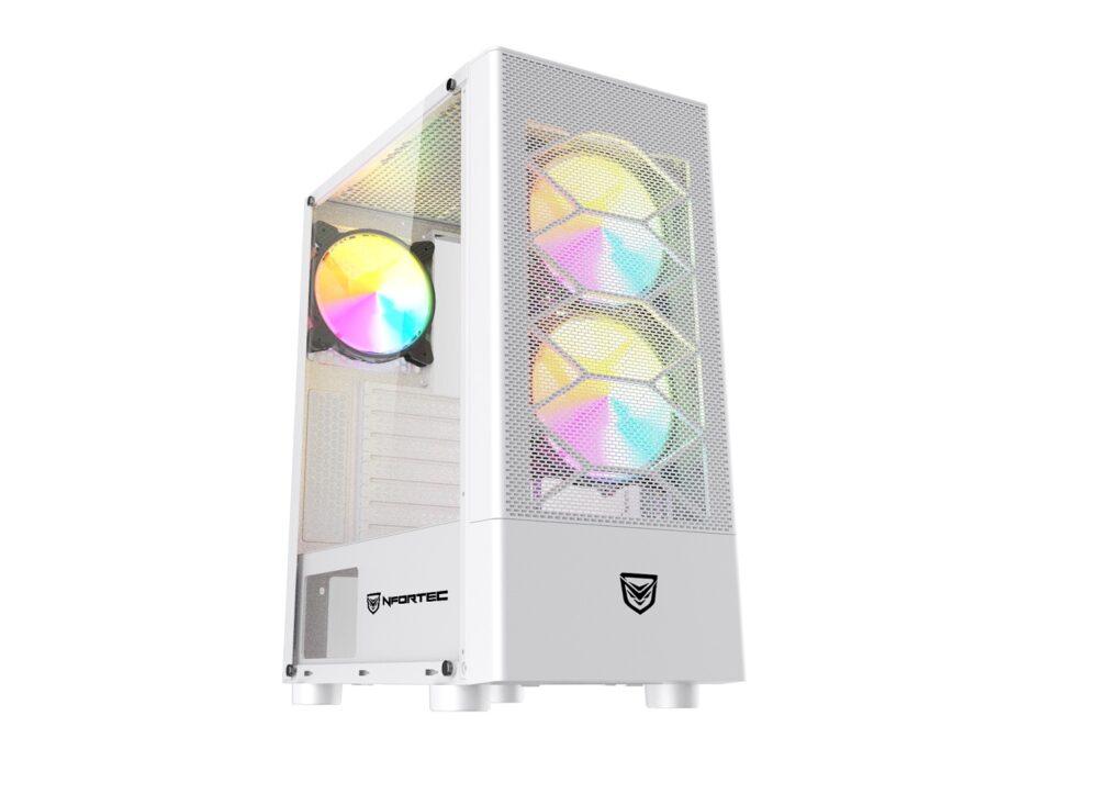 Nfortec Caelum, nuevas cajas para montar tu PC con 15 modos de iluminación 1