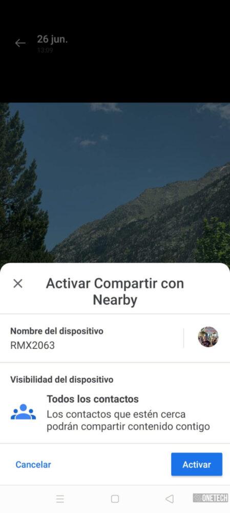 """Compartir con Nearby: te mostramos como funciona el """"AirDrop de Android"""" en Español 12"""