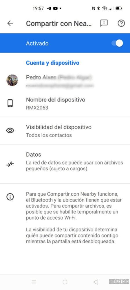 """Compartir con Nearby: te mostramos como funciona el """"AirDrop de Android"""" en Español 16"""