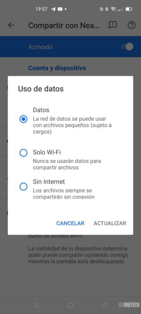 """Compartir con Nearby: te mostramos como funciona el """"AirDrop de Android"""" en Español 17"""
