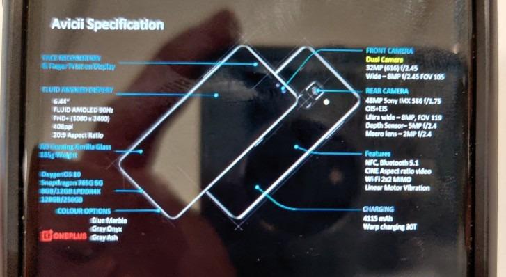Se filtran las posibles especificaciones del OnePlus Nord 1