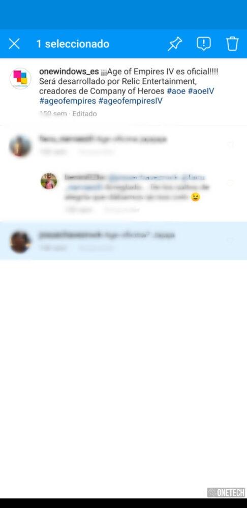 Instagram ya permite anclar comentarios 1