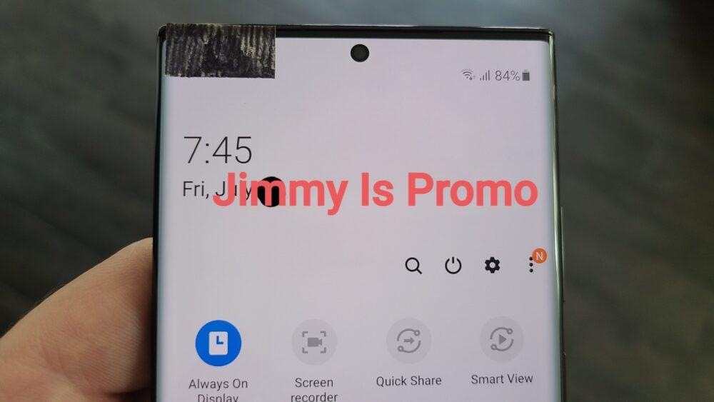 Primeras imágenes reales del Galaxy Note 20 Ultra 1