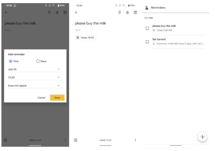 Notificaciones de Android permitirán añadir recordatorios