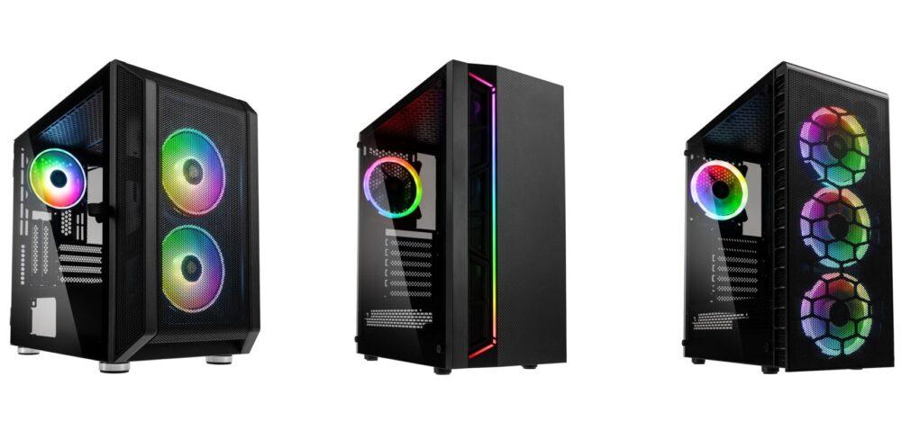 Kolink lanza en españa sus nuevas cajas RGB con Caseking