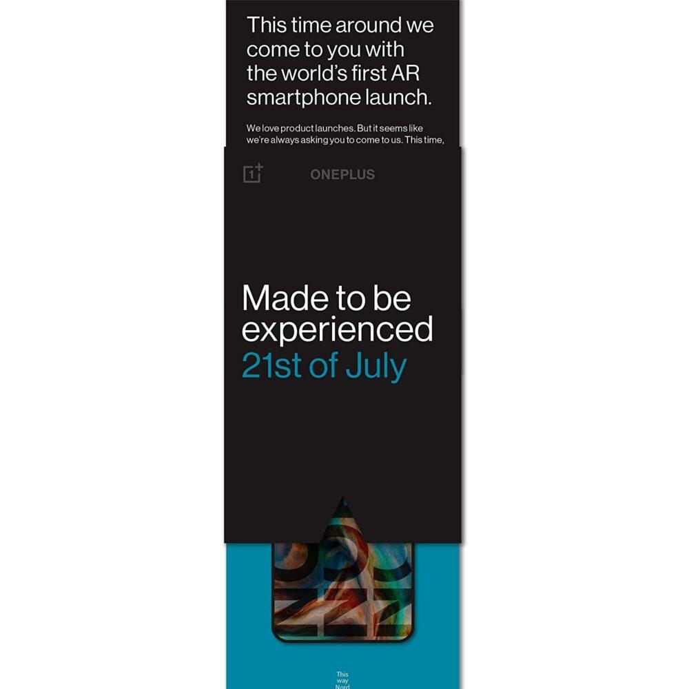 El OnePlus Nord se lanzará el 21 de Julio en un evento online 1