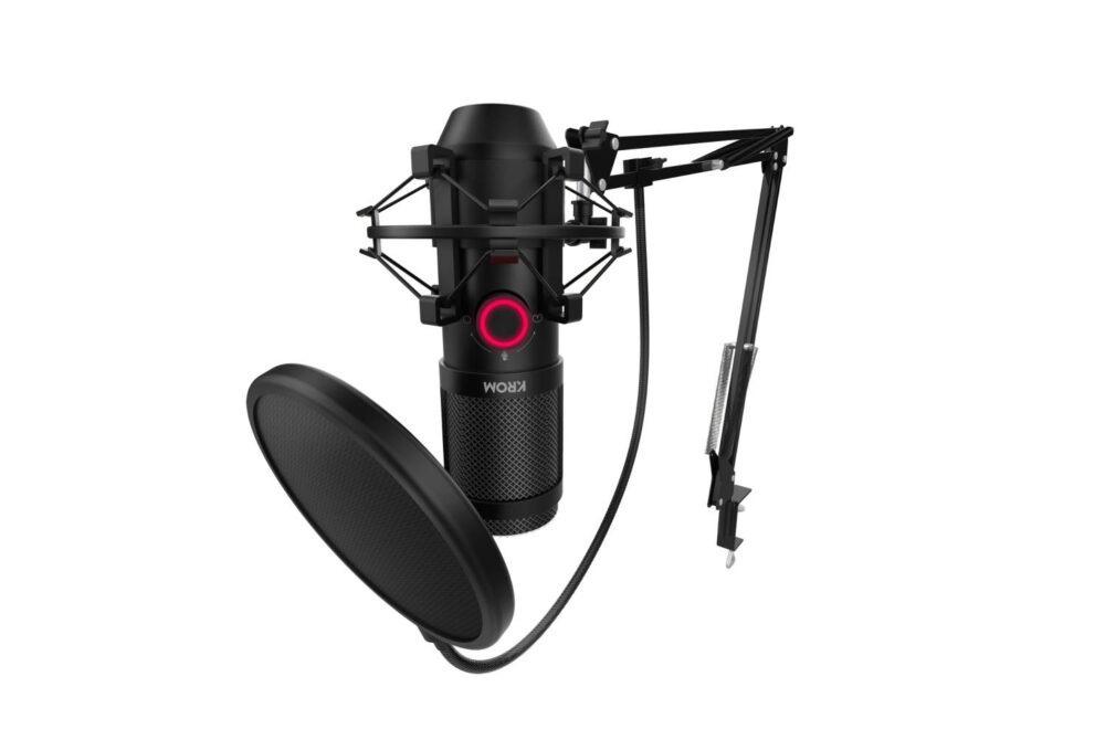 Kapsule, el nuevo micrófono profesional de Krom 1
