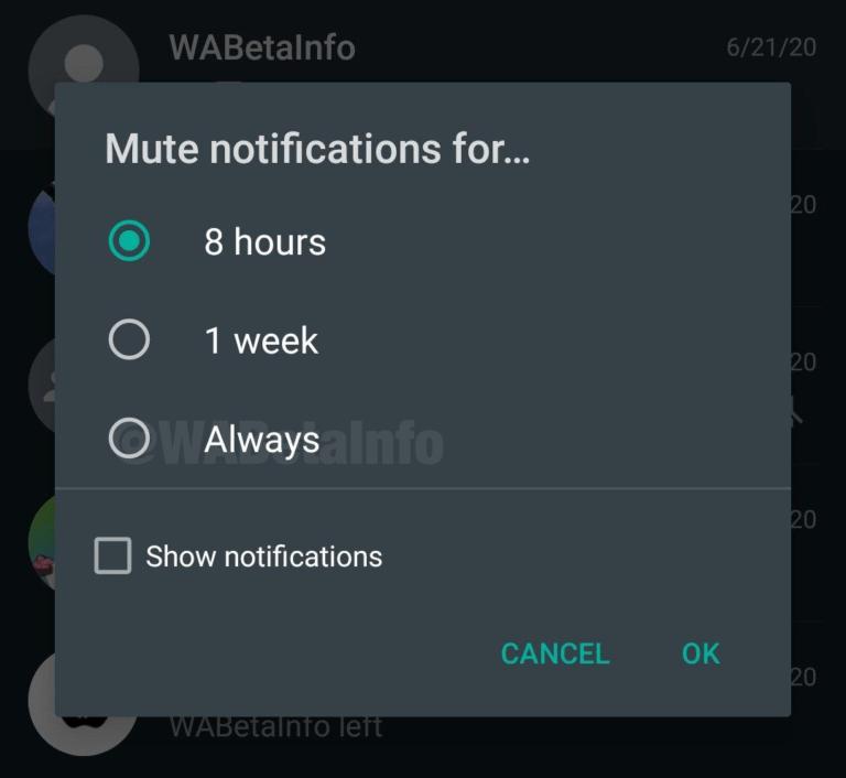 WhatsApp modificará una de sus opciones más absurdas 1