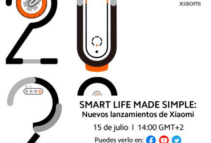 """""""Smart Life Made Simple"""" evento Xiaomi para el 15 de Julio"""