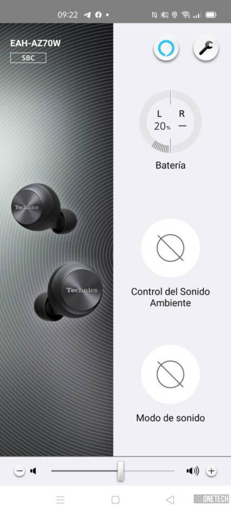 Technics AZ70, unos potentes auriculares inalámbricos con ANC - Análisis 17