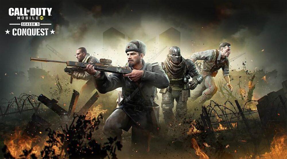Conquest: llega la temporada 9 a Call of Duty: Mobile