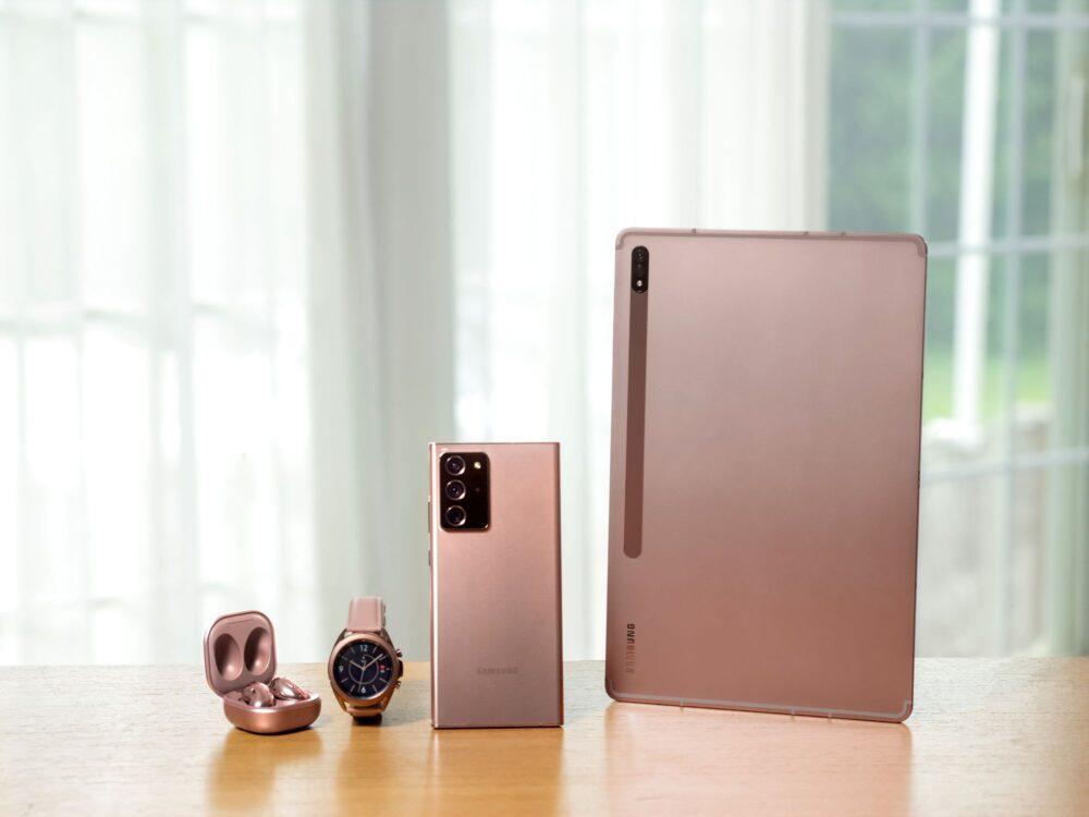 Masiva filtración de imágenes y vídeos de los nuevos dispositivos Samsung 7