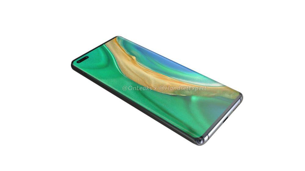 Huawei Mate 40 y Mate 40 Pro, así lucen sus primeros renders 1