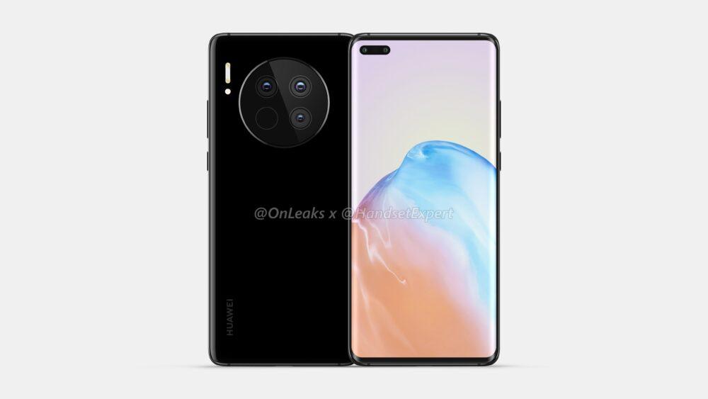 Huawei Mate 40 y Mate 40 Pro, así lucen sus primeros renders 3