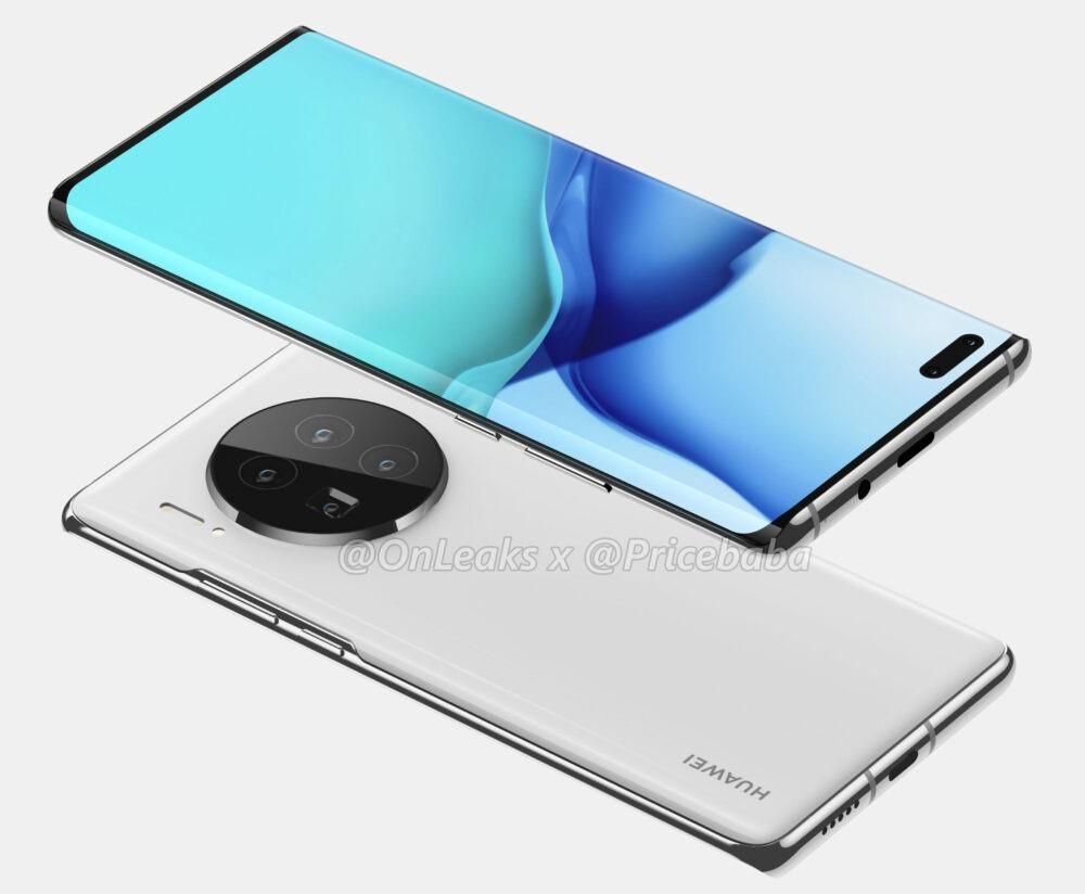 Huawei Mate 40 y Mate 40 Pro, así lucen sus primeros renders 6