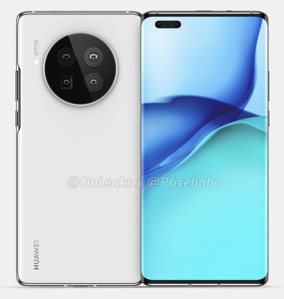 Huawei Mate 40 y Mate 40 Pro, así lucen sus primeros renders 5