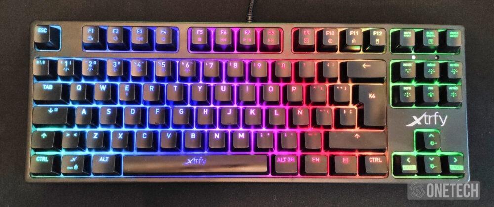 Xtrfy K4 RGB TKL, probamos el teclado gamer compacto sueco 10