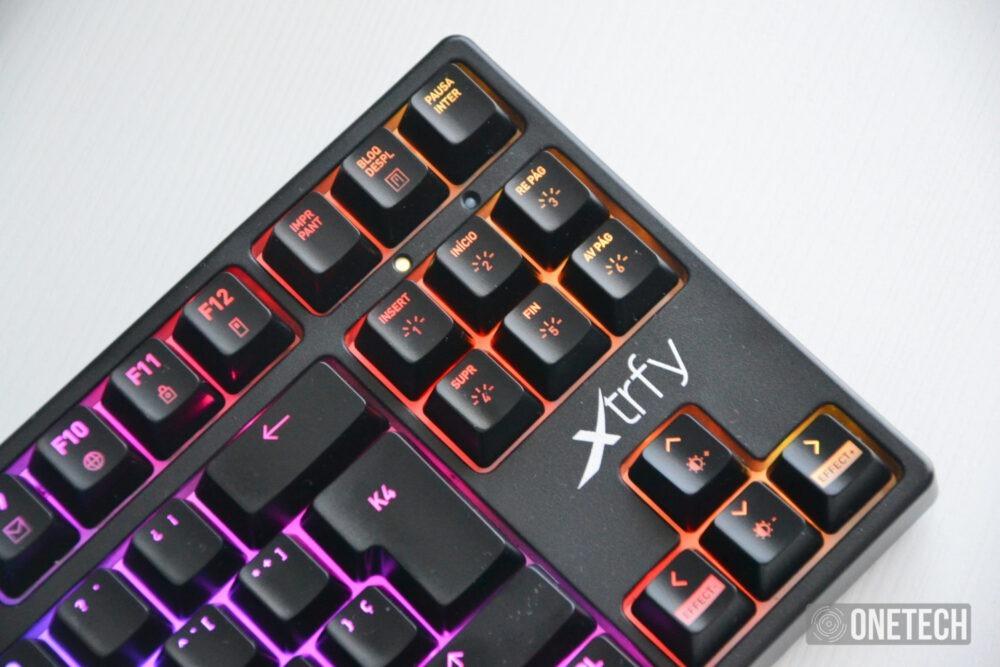 Xtrfy K4 RGB TKL, probamos el teclado gamer compacto sueco 8