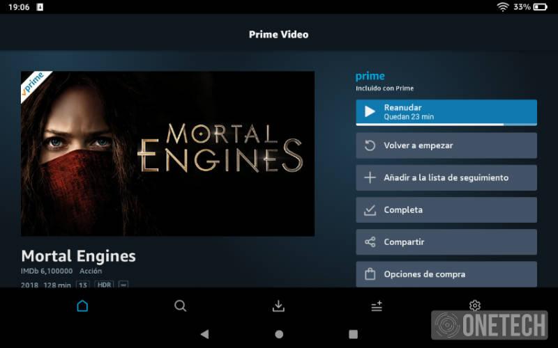 Amazon Fire HD 8 (2020) análisis y opinión 2