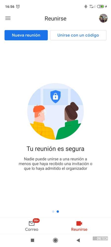 La integración de Meet con Gmail ya está disponible para todos los Android 1