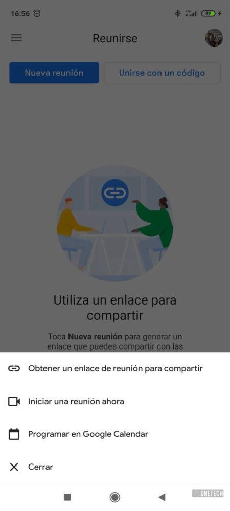 La integración de Meet con Gmail ya está disponible para todos los Android 2