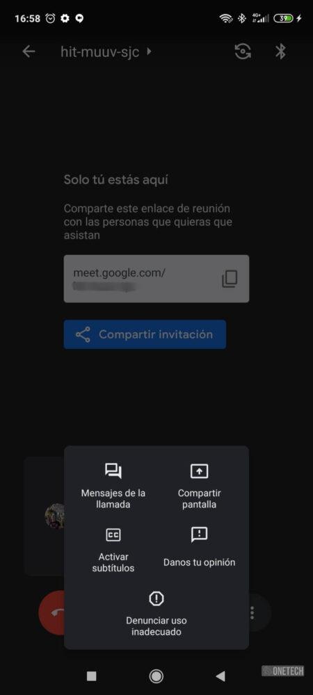 La integración de Meet con Gmail ya está disponible para todos los Android 3