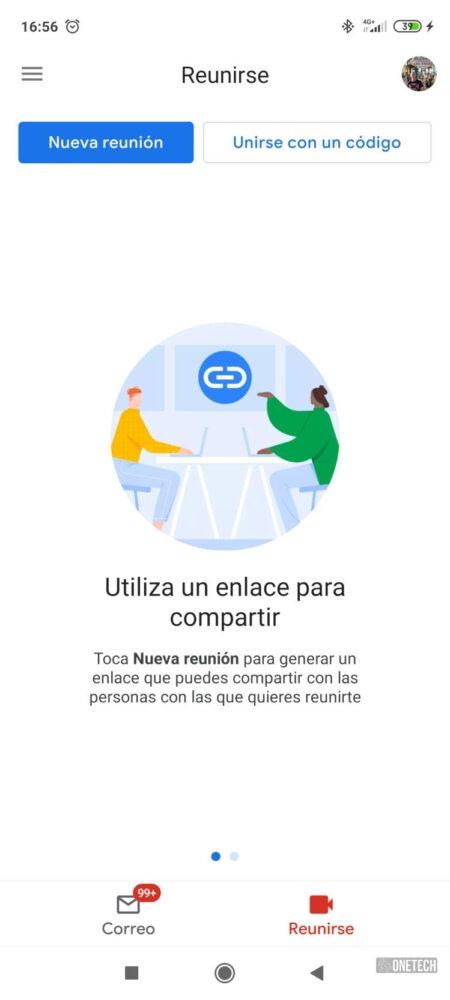 La integración de Meet con Gmail ya está disponible para todos los Android 5