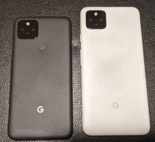 Imagen real y especificaciones de los Pixel 5 y Pixel 4a 5G 1