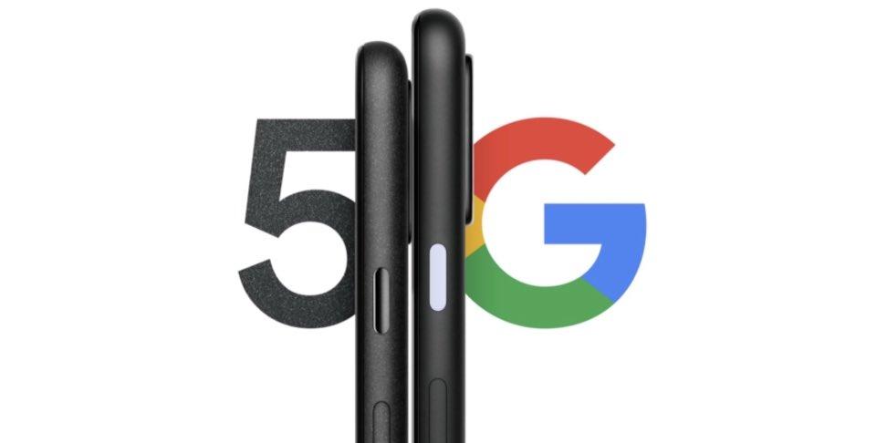 Primera imagen de la linea 5G de los Google Pixel