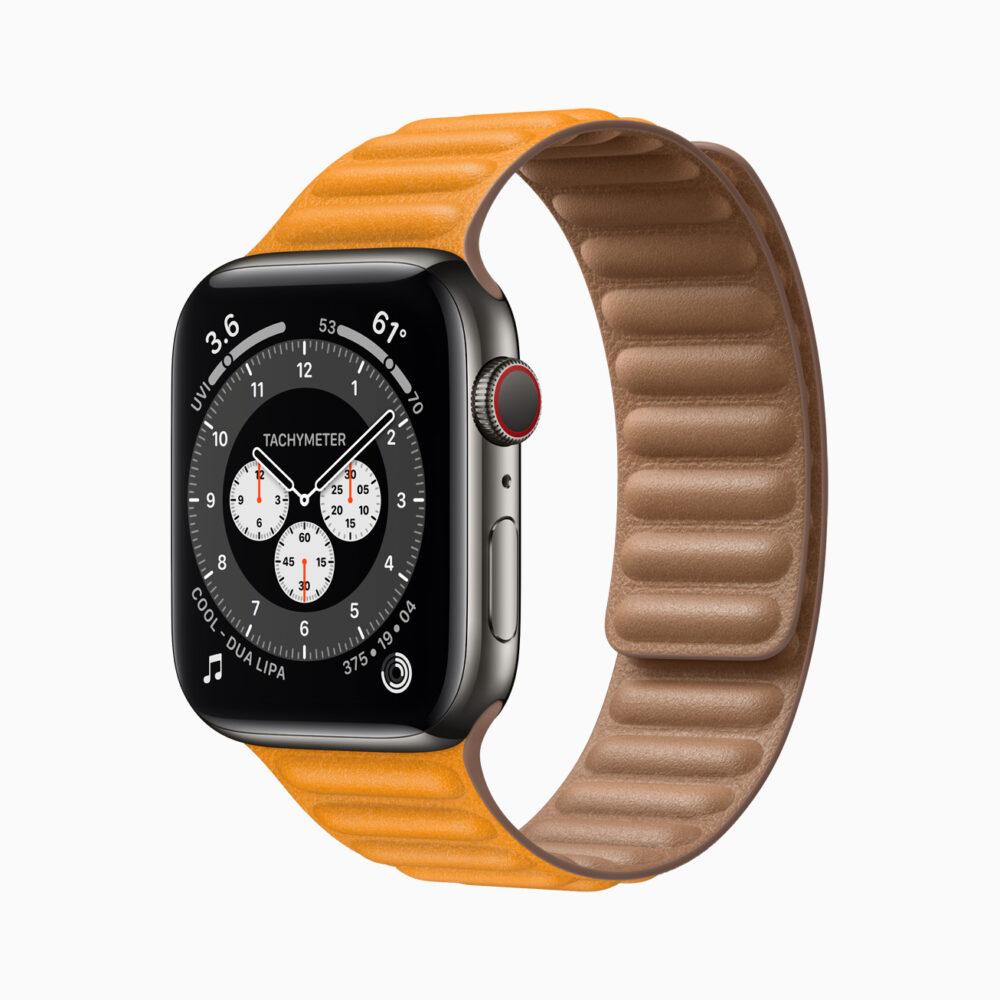 El Apple Watch Series 6 estrena sensor de oxígeno en sangre y chip S6 2