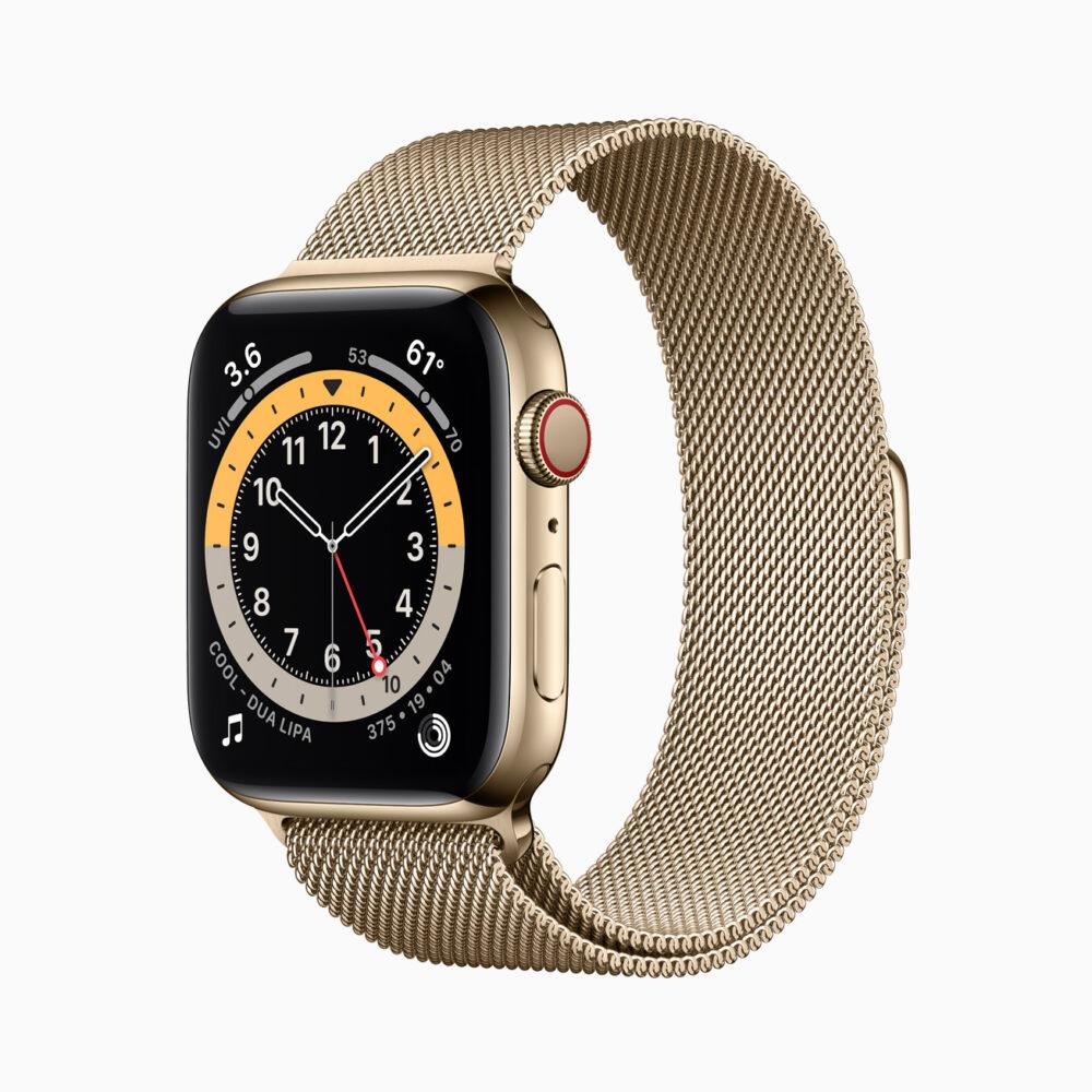 El Apple Watch Series 6 estrena sensor de oxígeno en sangre y chip S6 1
