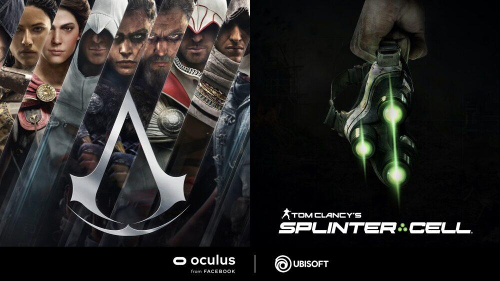 Ubisoft anuncia versiones en realidad virtual para Assassin's Creed y Tom Clancy's Splinter Cell