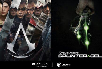 Assassin's Creed y Tom Clancy's Splinter Cell
